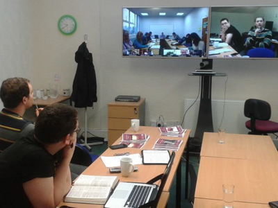 HTC Glasgow in video conference